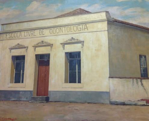 antiga sede do curso de Odontologia em BH